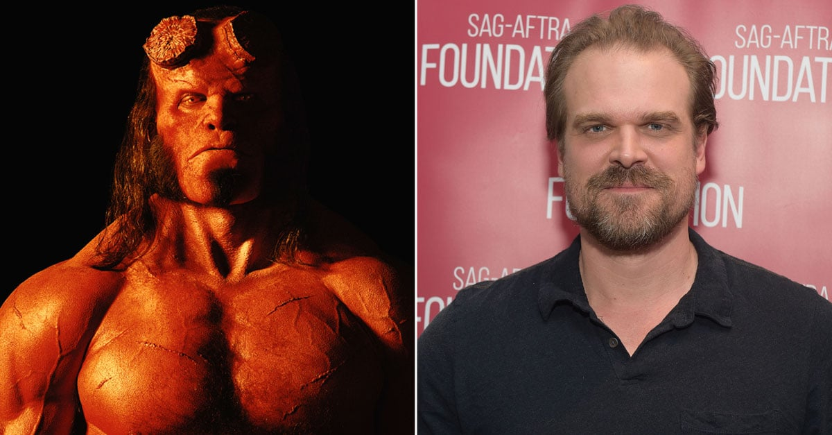 David Harbour >> David Harbour As Hellboy Photo Popsugar Entertainment