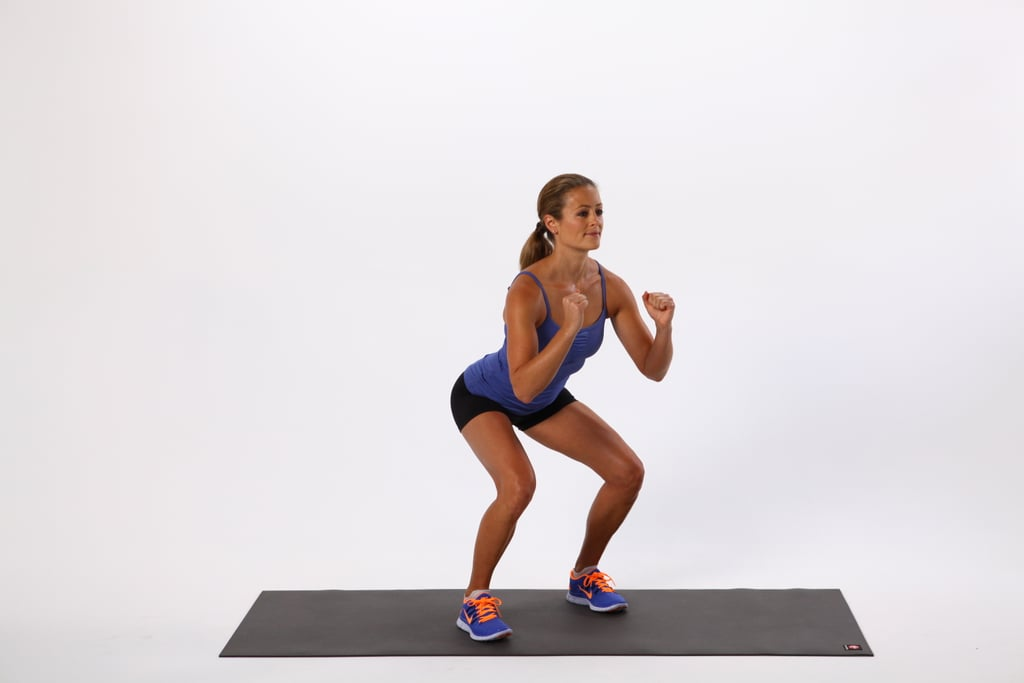 Warmup, Exercise 1: Squat Walk