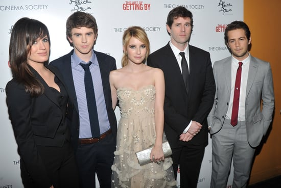 Pictures of Emma Roberts, Freddie Highmore, Abigail Breslin, Elizabeth Reaser at The Art of Getting By NY Screening