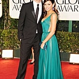 Channing Tatum and Jenna Dewan dressed to impress for the 2012 Golden Globe Awards.