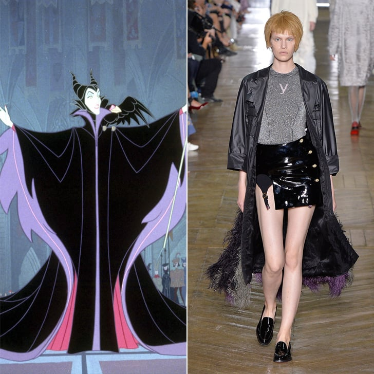 Maleficent in Ulyana Sergeenko Haute Couture