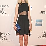A sheer panel gave Imogen's Christopher Kane dress an extra touch at a screening of Greetings From Tim Buckley during the Tribeca Film Festival.