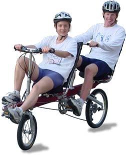 Get Physical: Quadribent Side-by-Side Recumbent Bike