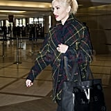 Pictures of Gwen Stefani Departing LAX