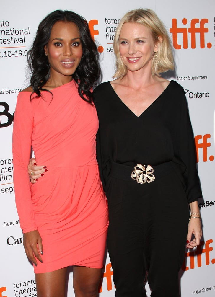She And Naomi Watts Are Same Height Pals Kerry