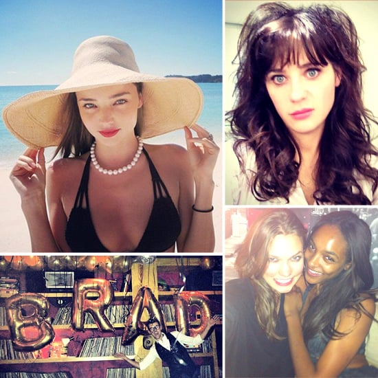 Pictures of Celebrities and Models on Social Media | Aug 9, 2012