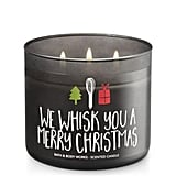 Bath & Body Works We Whisk You a Merry Christmas Candle