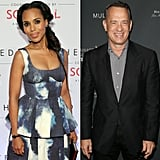 Kerry Washington and Tom Hanks