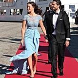 Princess Sofia Hellqvist wearing Zuhair Murad.