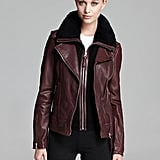Not into brown or black? We're feeling this deep oxblood option from Mackage ($995) if you prefer a more unique shade.