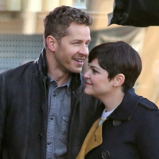 Ginnifer Goodwin and Josh Dallas Holding Hands January 2016