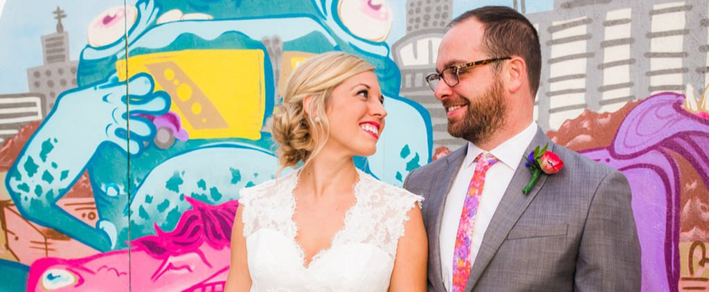This Relaxed and Intimate Wedding Is Full of Love, Color, and DIYs