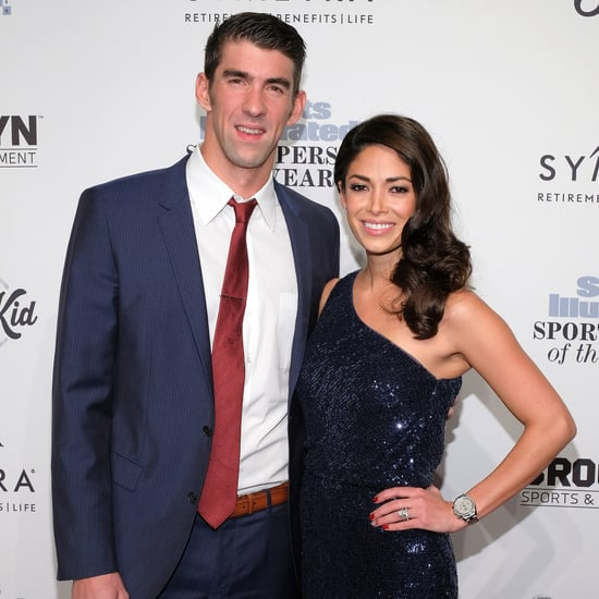 Michael Phelps and Wife Nicole Sports Illustrated Event 2016