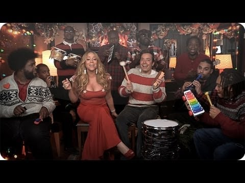 """All I Want For Christmas Is You"" With Mariah Carey and The Roots"