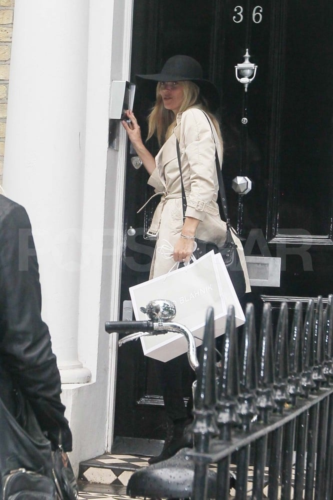 Kate Moss Finalizes the Menu, Registry, and Even Themed Tents For Her Wedding!