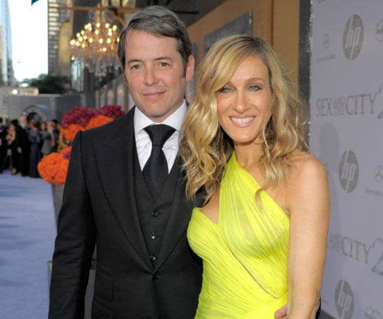 Slide Picture of Sarah Jessica Parker and Matthew Broderick at Sex and the City 2 Premiere