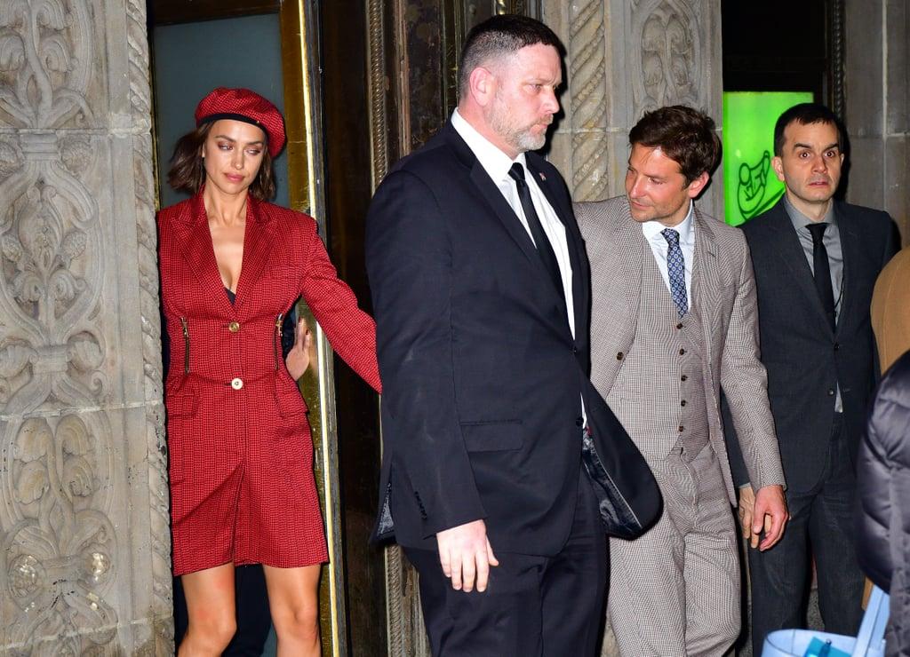 Bradley Cooper and Irina Shayk at NBR Awards Gala Photos