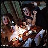 Nina Dobrev dined out for Paul Wesley's recent birthday. Source: Instagram user ninadobrev