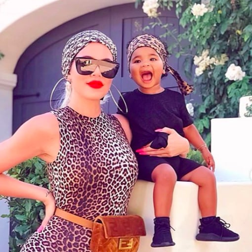 Khloe Kardashian and True Mummy and Me Photo August 2019