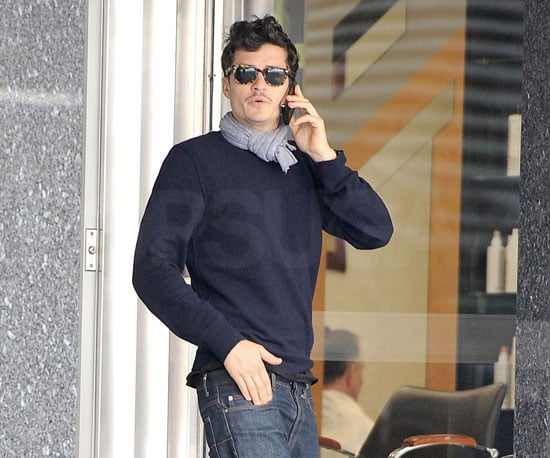 Photo of Orlando Bloom Out in NYC
