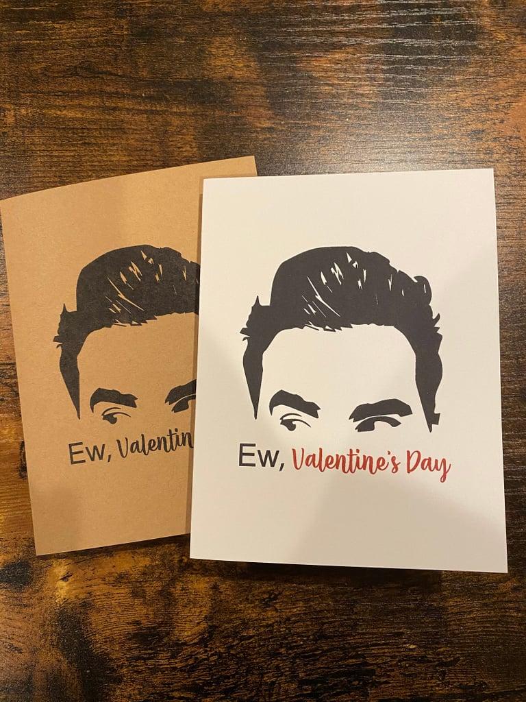 Schitt's Creek David Rose Inspired Valentines Day Card