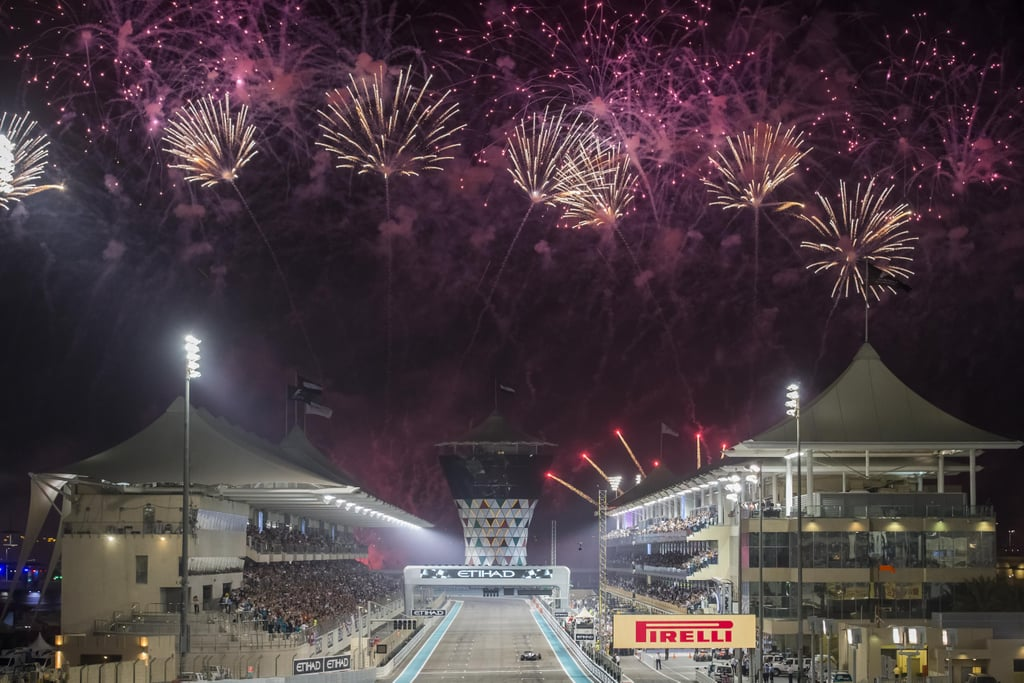 When this spectacular fireworks display marked the end of another fab year