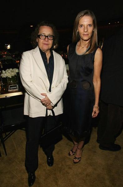 Ingrid Sischy and Sandra Brant from Vanity Fair/Vanity Fair International