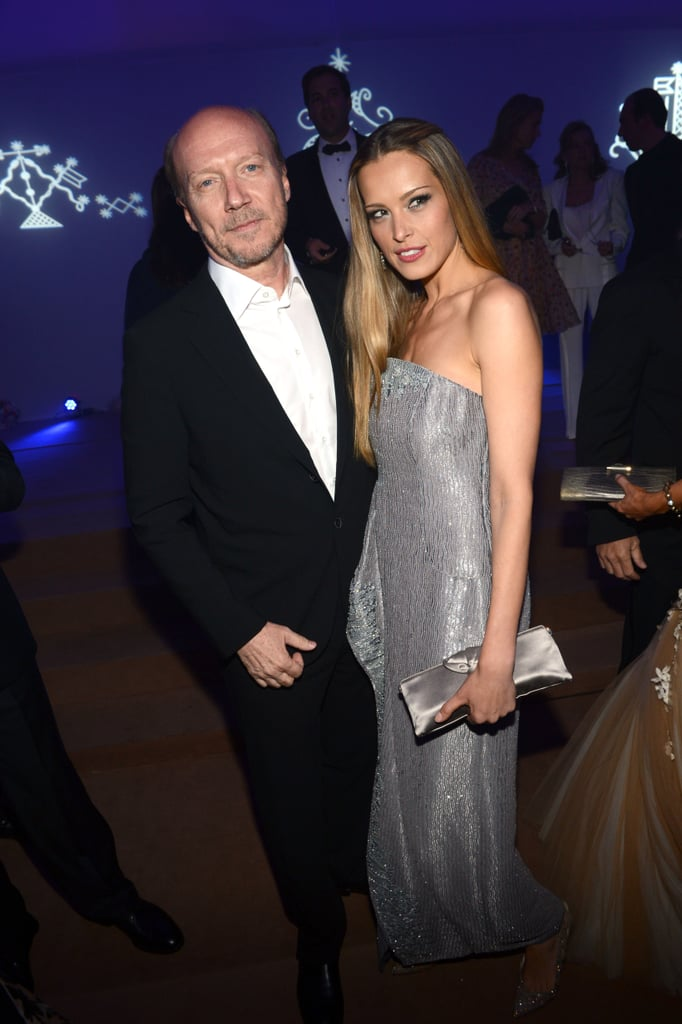 Paul Haggis and Petra Nemcova attended the Haiti Carnival in Cannes event.