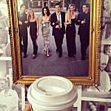 Of course, the walls are adorned with photos of the cast. Ross, Rachel, Monica, Chandler, Phoebe, and Joey would be proud!