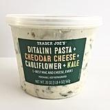 Ditalini Pasta + Cheddar Cheese + Cauliflower + Kale ($5)