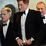 Prince Harry wore a tux in Washington DC to attend a gala hosted by the Atlantic Council.