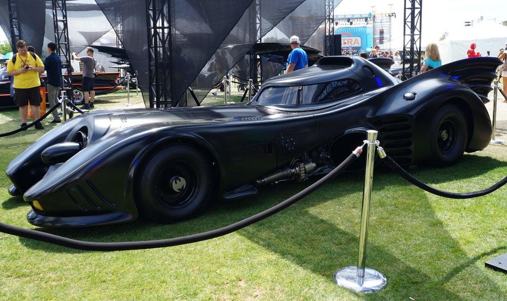 Michael Keaton's ride in Batman and Batman Returns.