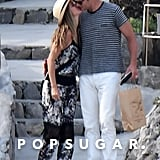 In September 2016, Tom and Gisele shared a sweet kiss during their romantic vacation in Italy.