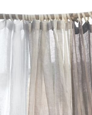 bedding free s white laurie lauries bath curtain ruffled shipping product today overstock sheer shower cotton