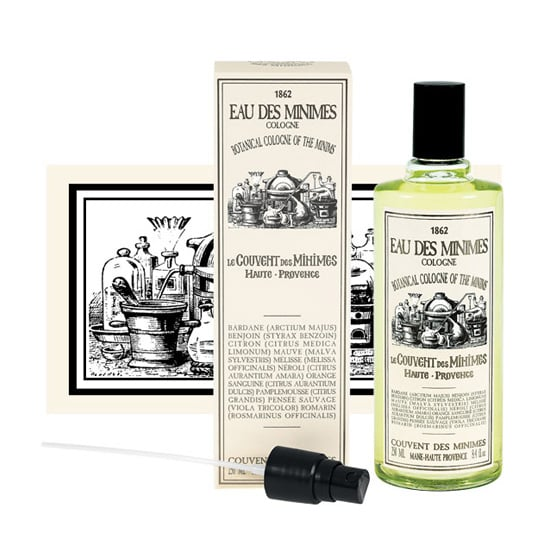 "French brand Le Couvent des Minimes is making its debut stateside, and its long list of products are all inspired by the natural beauty recipes created by monks who lived in the convent over four centuries ago. One of my favorites is the Eau des Minimes Botanical Fragrance ($35-$65), which was inspired by the ""miraculous waters"" that were originally distilled in convents. The refreshing blend of citrus fruits, flowers, and herbs creates a light scent perfect for spritzing on all Summer long. — KD"