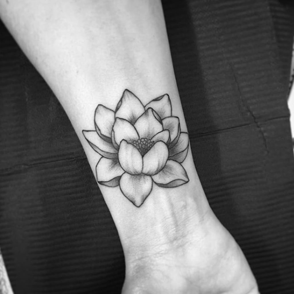 Lotus flower tattoos popsugar beauty mightylinksfo