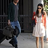 Rachel Bilson Dresses Up For a Sunny Day
