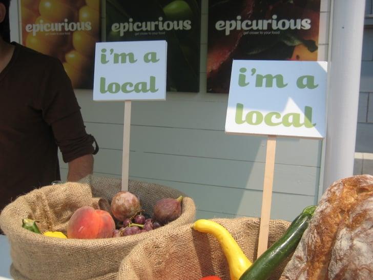 Epicurious at the San Francisco Farmers Market