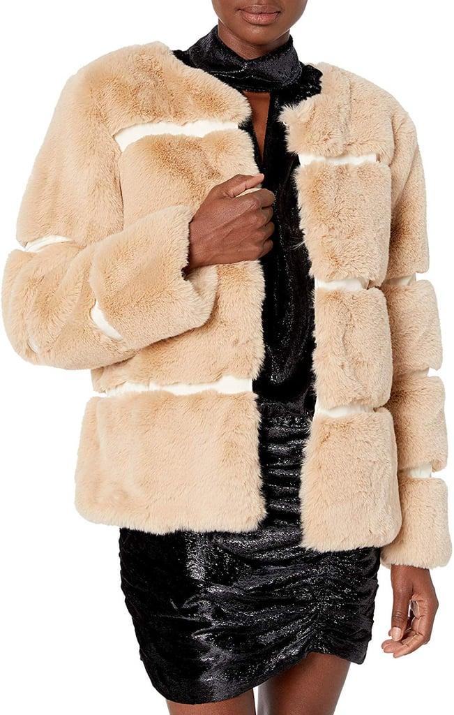 Keepsake The Label Ariel Faux Fur Plush Coat