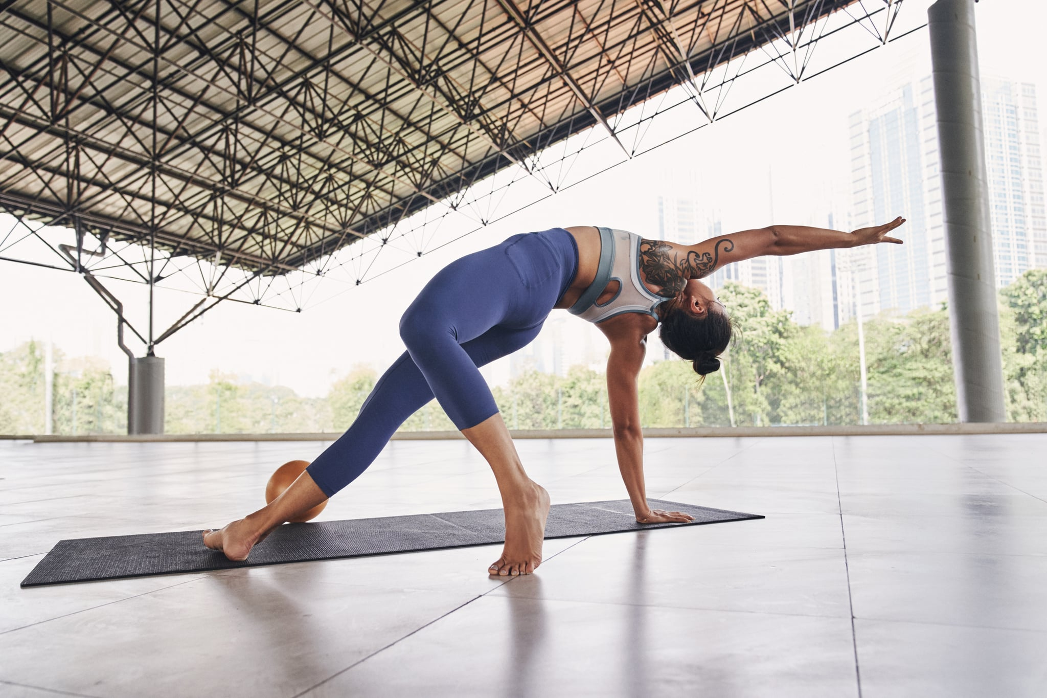 yoga and mindfulness for training