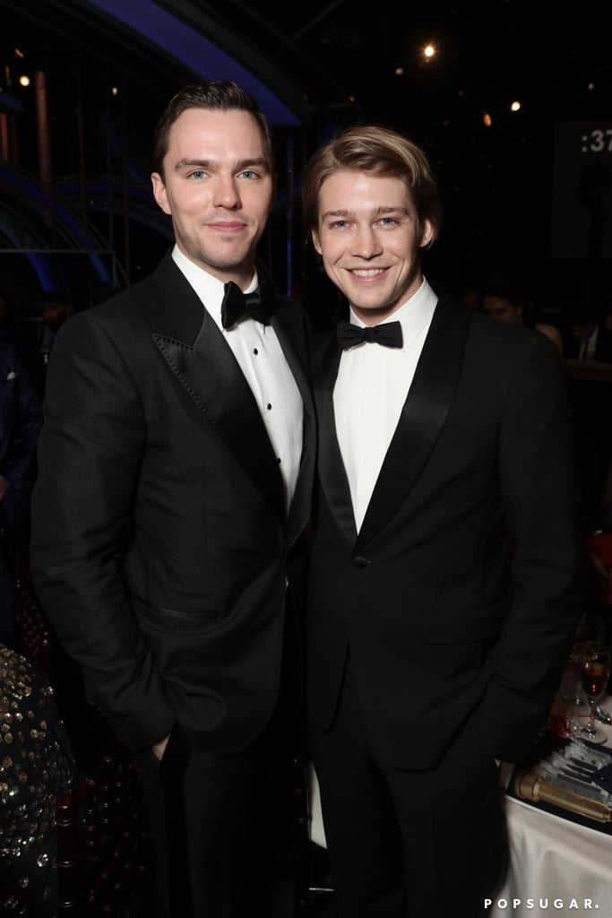 Pictured: Nicholas Hoult and Joe Alwyn