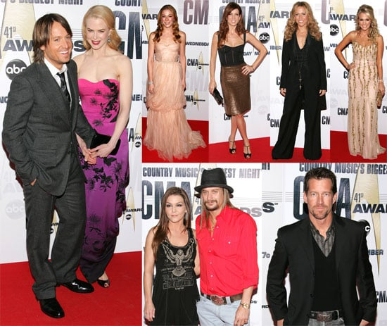 A Little Bit Country a Lot Glam on the CMA Red Carpet