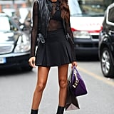 We'll never tire of Joan Smalls's off-duty gear.