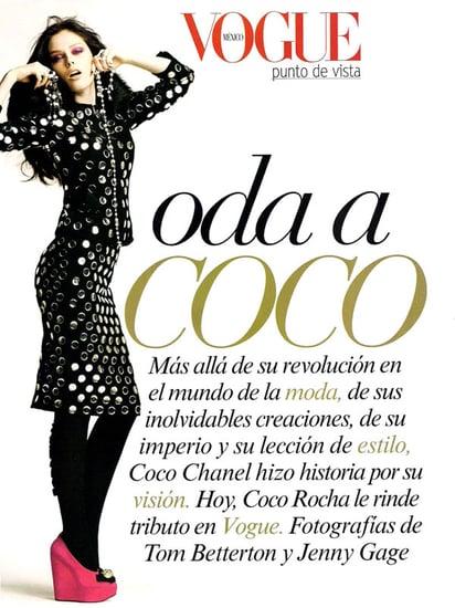 Coco Rocha does Vogue Mexico-sept 09