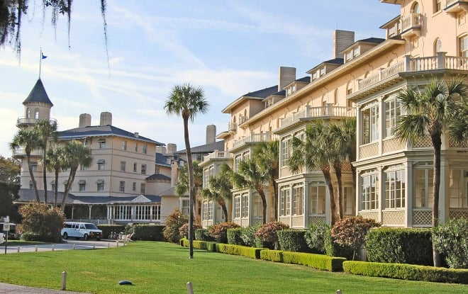 Jekyll island club hotel jekyll island ga the most for Oldest hotels in america
