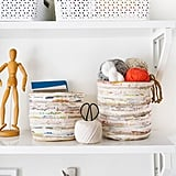 Rug Storage Basket