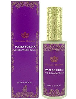 Think Pink: Duchess Marden Damascena Neck & Décolleté Serum