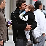 Orlando Bloom and Flynn Pictures Shopping in Beverly Hills