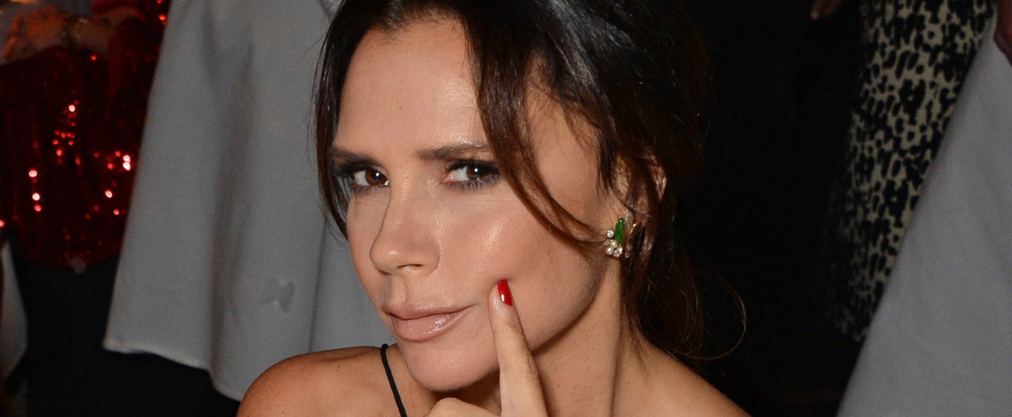 Victoria Beckham Talking About Gel Manicures YouTube Video