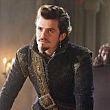 Orlando Bloom as the Duke of Buckingham